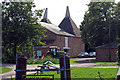 TQ7044 : Oast House at Bockingfold Farm, Spenny Lane, Marden,  Kent by Oast House Archive