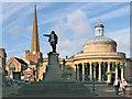 ST2937 : Admiral Blake Statue, Bridgwater : Week 35