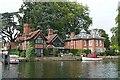 SU8586 : Marlow riverside by Graham Horn