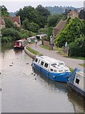 ST7766 : Kennet and Avon canal by Derek Harper