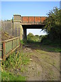SP6726 : Dismantled railway near Portway Farm 2 by Andy Gryce