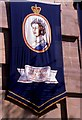 SO9422 : Silver Jubilee banner by Philip Halling