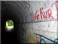 SU3646 : Andover - Railway Line Underpass by Chris Talbot