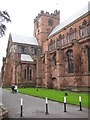 NY3955 : Carlisle Cathedral by Philip Halling