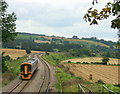 ST7165 : 2008 : Local train on the Bath to Bristol line by Maurice Pullin