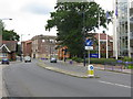 SP0481 : Bournville Lane and Cadbury's installations by Peter Whatley