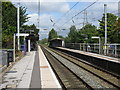 SP0581 : Bournville station - platform view by Peter Whatley