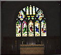 SJ6643 : Stained glass window, St James's Church, Audlem by Eirian Evans