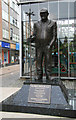 SD7109 : Fred Dibnah memorial by Chris Allen