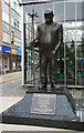 SD7109 : Fred Dibnah memorial by Chris Allen