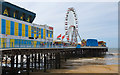 SD3035 : Central Pier, Blackpool by Dave Green