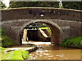 SJ6541 : Audlem Top Lock as seen through Coxbank Bridge by Andy Beecroft