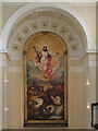 TQ3479 : The Ascension painting, St James Bermondsey by Stephen Craven