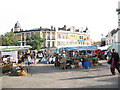TQ4378 : Woolwich Market - Beresford Square by Stephen Craven