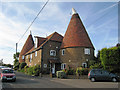 TQ8665 : Kiln Oast, Church Lane, Newington, Kent by Oast House Archive