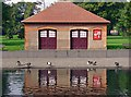 TL0822 : Boat house: Wardown Park, Luton : Week 38