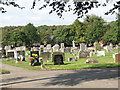 NZ2347 : Sacriston cemetery by Stephen Craven
