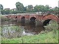 SJ4154 : Holt Bridge by Eirian Evans