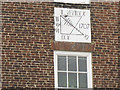 NZ3528 : Sundial on Sedgefield Manor House by Stephen Craven
