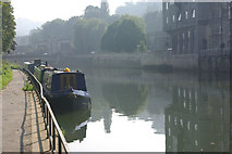 ST7464 : River Avon, Bath by Stephen McKay
