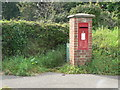 SY3392 : Lyme Regis: postbox № DT7 84, North Avenue by Chris Downer