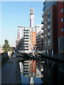 SP0687 : Birmingham and Fazeley Canal in Birmingham by Roger  Kidd