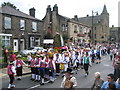 SD9905 : Saddleworth Rushcart Festival in Uppermill by Paul Anderson