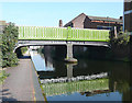 SP0787 : Barker Bridge over the Birmingham and Fazeley Canal by Roger  Kidd
