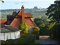SU7691 : School Lane, Turville by Andrew Smith