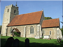 TL8240 : St. Mary the Virgin Belchamp Walter by Keith Evans