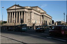 SJ3490 : St George's Hall in the morning sun by roger geach