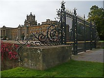 SP4416 : The Entrance Gate (2), Blenheim Palace by Robin Drayton