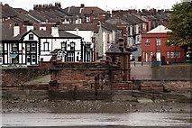 SJ5183 : Remains of the Transporter Bridge by Alan Murray-Rust