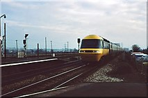 SU5290 : Down HST approaches Didcot by Peter Whatley