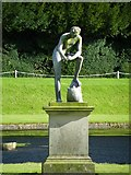SE2768 : Studley Royal - Euricles and the Tortoise by Terry Robinson