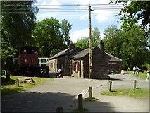 SK3155 : Cromford Junction workshops by Ashley Dace