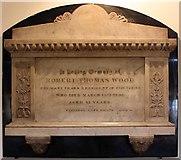 TQ3580 : St Paul's Church, The Highway, London E1 - Wall monument by John Salmon