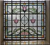 TQ3580 : St Paul's Church, The Highway, London E1 - Window by John Salmon