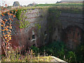 SU6506 : Part of the moat, Fort Widley by Chris Gunns