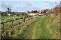 TM0461 : Track approaching Dagworth by Andrew Hill