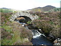 NN9661 : Stone bridge by Russel Wills