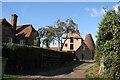 TQ7249 : Oast Houses at Clockhouse Farm, East Street, Hunton, Kent by Oast House Archive