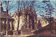 SP3379 : Old Blue Coat school, 1974 by E Gammie