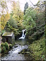 NY3606 : Waterfall, Rydal Beck by Michael Graham