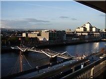O1634 : Sean O'Casey Bridge and The River Liffey by Ian Paterson