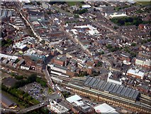 NY4055 : Carlisle Railway Station from the Air by Alex