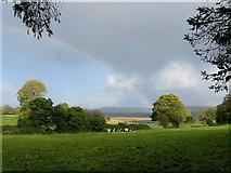 N3957 : Rainbow and Rainshower by kevin higgins