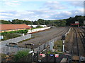 NY9464 : Sidings east of Hexham Station (2) by Mike Quinn