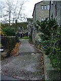 SD9828 : Church Lane, Heptonstall by Alexander P Kapp