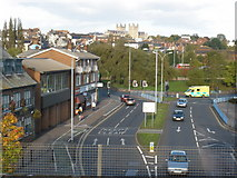 SX9192 : View towards Exeter city centre by Roger Cornfoot